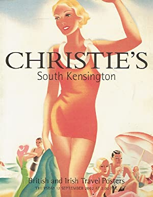 Christies September 2002 British and Irish Travel Posters