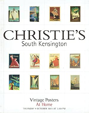 Christies October 2003 Vintage Posters - At Home