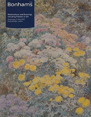 Bonhams May 2003 Watercolours and Drawings including: Bonhams
