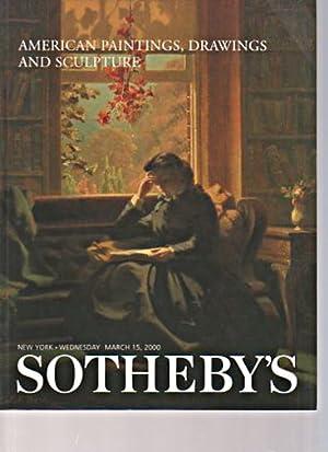 Sothebys 2000 American Paintings, Drawings & Sculpture: Sothebys