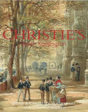 Christies March 2004 British and Continental Watercolours: Christies