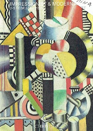 Christies February 2016 Impressionist & Modern Art: Christies