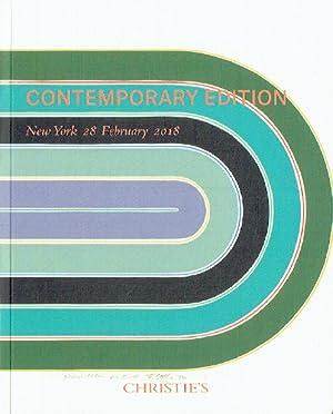 Christies February 2018 Contemporary Edition: Christies