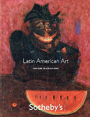 Sothebys May 2008 Latin American Art: Sothebys