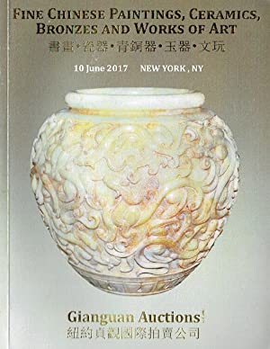 Gianguan June 2017 Fine Chinese Paintings, Ceramics,: Misc.