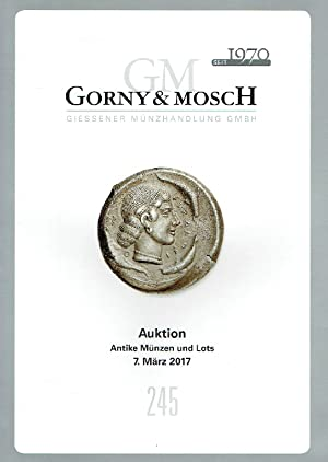 Gorny & Mosch March 2017 Ancient Coins: Misc.