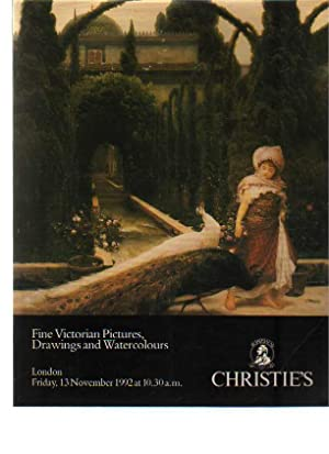 Christies 1992 Fine Victorian Pictures, Drawings &: Christies