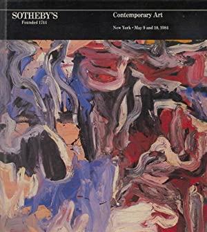 Sothebys May 1984 Contemporary Art