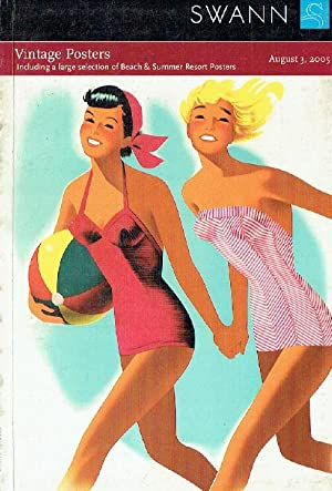 Swann August 2005 Vintage Posters inc. Large selection of Beach & Summer Resorts