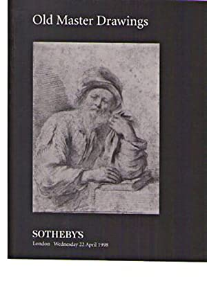 Sothebys April 1998 Old Master Drawings