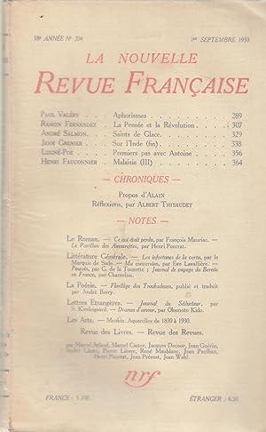 La Nouvelle Revue Française - 18e année: Paul Valéry, Ramon