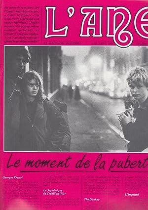 L'Ane - Le magazine Freudien - N°: Jean-Yves Girard, Thierry