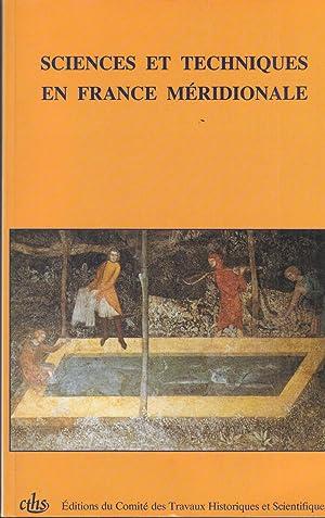 Sciences et Techniques en France Méridionale. -: Jean Théodoridès, Suzanne
