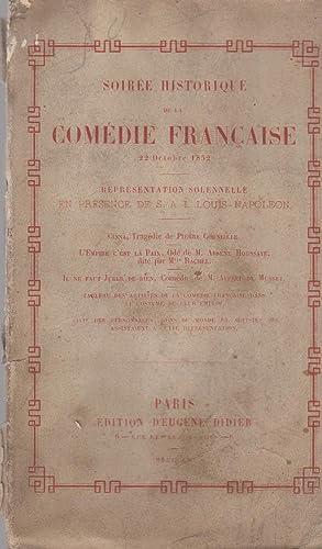 Soirée Historique de la Comédie Française (22: Pierre Corneille, Arsène