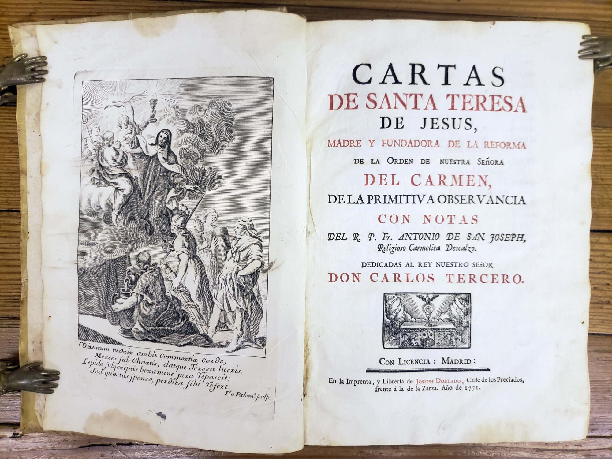 Cartas de Santa Teresa