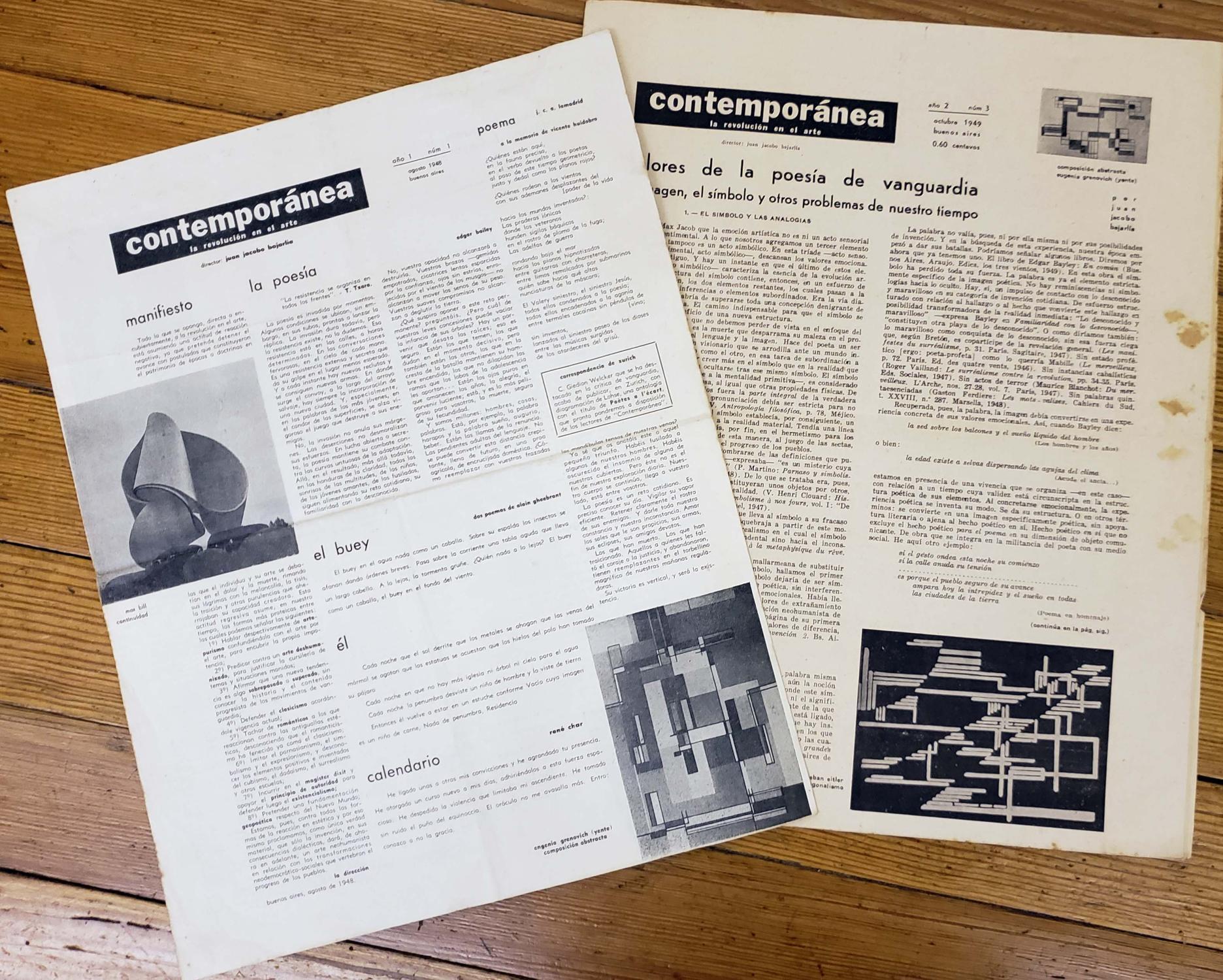 Calendario 1949.Contemporanea La Revolucion En El Arte