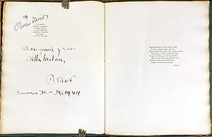 Oda a Mitre (Inscribed to Valle Inclan): Ruben Dario