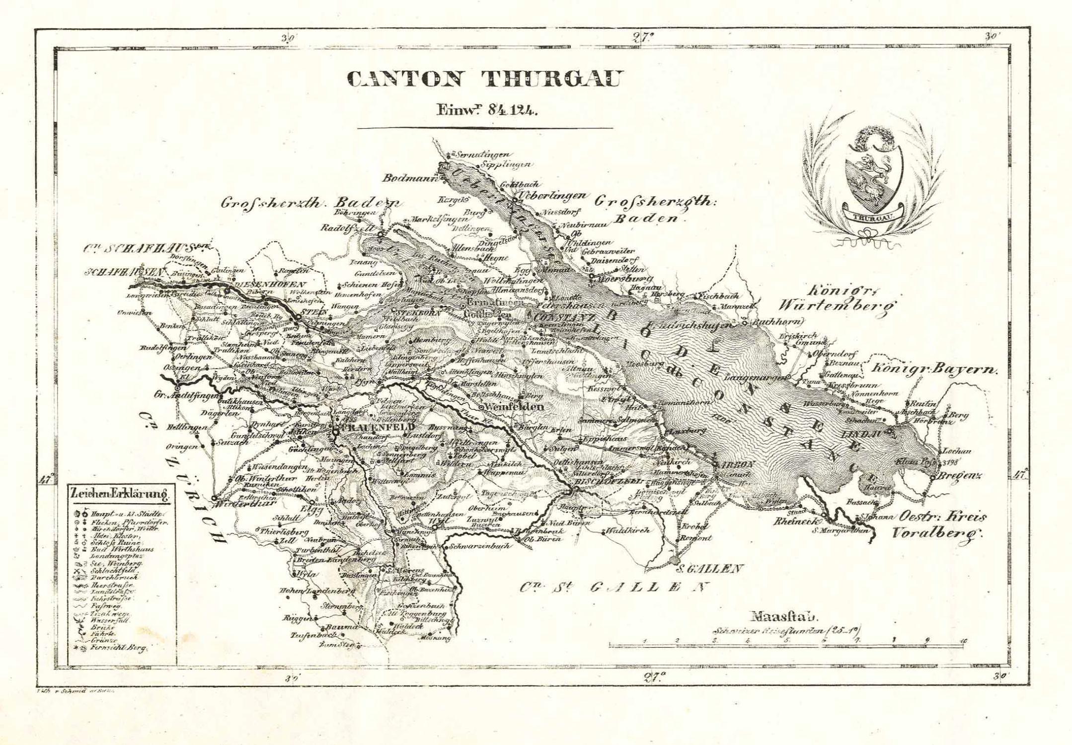 Canton Thurgau':.: THURGAU (Kanton):