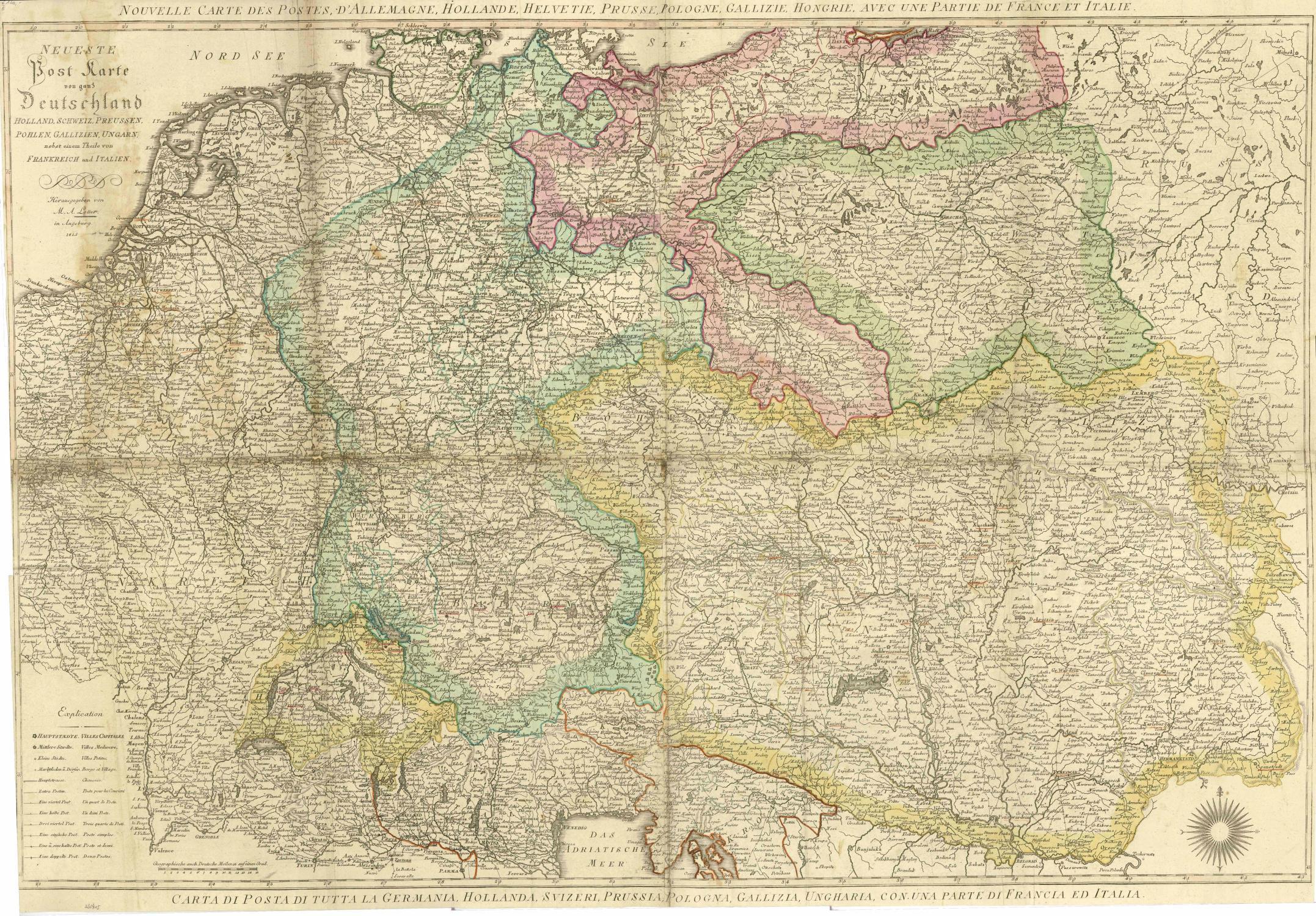 karte von ganz deutschland viaLibri ~ Neueste Post Karte von ganz Deutschland Holland