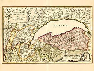 Ducatus Chablasius et Lacus Lemanus Cum Regionibus: GENFER SEE (Lac