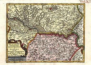Neu und verbessertes Ungarisches Kriegs-Theatrum in Servien: TEMESVAR (Timisoara) /