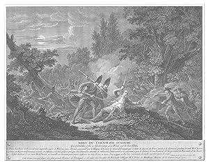 Tod des Offiziers Louis d'Assas im Gefecht: KAMP-LINTFORT: