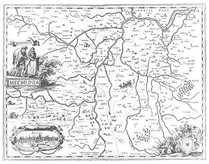 Mechlinia - P. Kaerius Excu. 1617':.: MECHELEN (Malines) /
