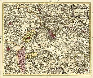 Mechlinia Dominium et Aerschot Ducatus Auctore Nicolao: MECHELEN (Malines) /