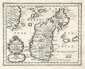 Isle De Madagascar, ou de St. Laurens.: MADAGASKAR (Madagascar) /