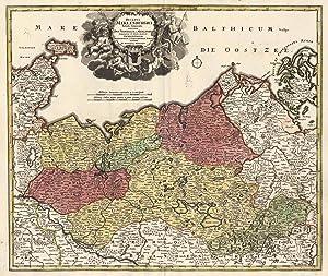 Ducatus Meklenburgici Tabula Generalis continens Duc. Vandaliae: MECKLENBURG:
