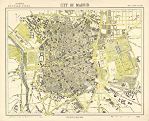 Stadtplan ('City Of Madrid').