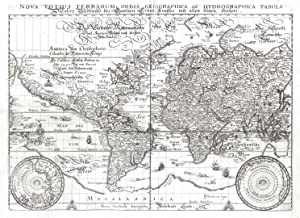 Nova Totius Terrarum Orbis Geographica Ac Hydrographica: WELTKARTE (World Map):