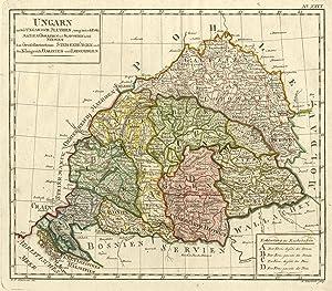 Ungarn nebst Ungarisch Illyrien (ungarisch Dalmatien, Croatien: UNGARN (Hungary):