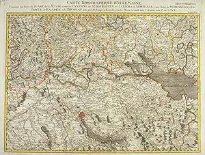 Carte Topographique D'Allemagne Contenant une Partie de: BODENSEE: