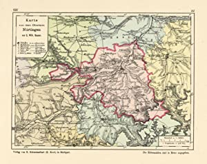 Nurtingen Karte Karte Zvab