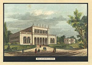 Salon und Pavillon ('Salon und Pavillon in Putbus.').