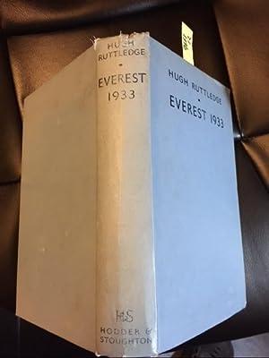 Everest 1933: Ruttledge H