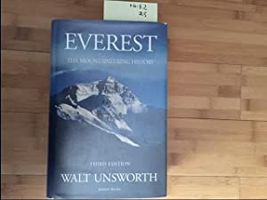 Everest: The Mountaineering History: Unsworth, Walt