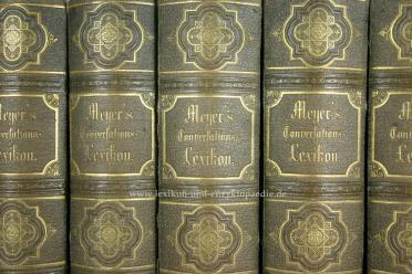 Meyers Konversations-Lexikon 2.Auflage, 17 Bände, 1871-1873 (II)