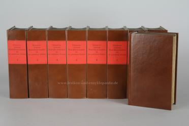 Brockhaus Conversations-Lexikon 5.Auflage, 11 Bände (incl. Supplement), EA 1819-1824: ...