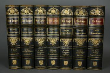 Luegers Lexikon der Gesamten Technik, Erstausgabe, 7 Bände, 1894: Lueger, Otto