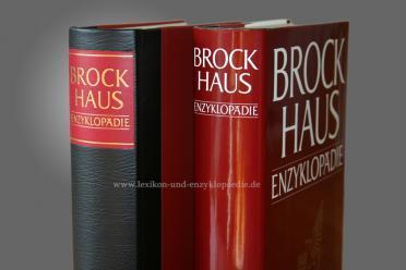 Brockhaus Enzyklopädie 19. Auflage, Band 18 (RAD-RUS) Halbleder | neuwertig (mit SU)