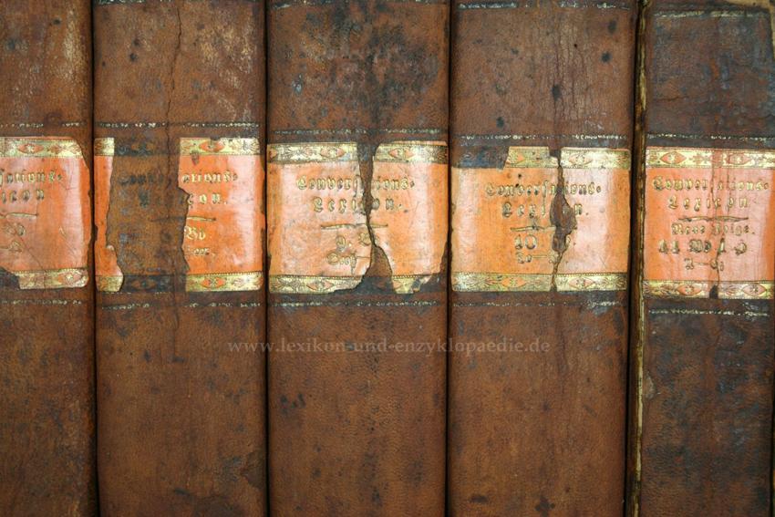 Brockhaus Conversations-Lexikon 5. Auflage, 12 Bände (incl. Neue Folge), 1822-1826: Brockhaus,...
