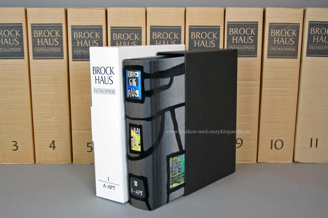 Hundertwasser Brockhaus Enzyklopädie (19. Auflage), 24 Bände,
