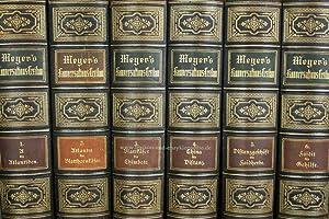 Meyers Konversations-Lexikon 4. Auflage, 17 Bände, 1888-1890, Prachtausgabe