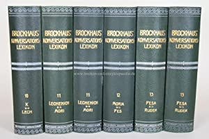 Brockhaus Konversations-Lexikon 14. Auflage, Band 11, 1908 (Lechenich - Mori)