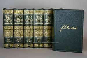 Brockhaus Enzyklopädie 17. Auflage, 20 Bände (A-Z) Ganzleder Jubiläum | Nr. 825&#x2F...