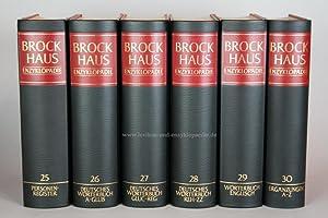 Brockhaus Enzyklopädie 19.Auflage, Band 30 (Ergänzungen A-Z) Halbleder | sehr gut
