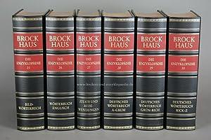 Brockhaus Die Enzyklopädie 20. Auflage, Band 28/29/30 (Deutsches Wörterbuch) ...