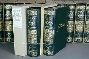 Brockhaus Enzyklopädie 17. Auflage, 20 Bände (A-Z) Ganzleder Jubiläum | ...